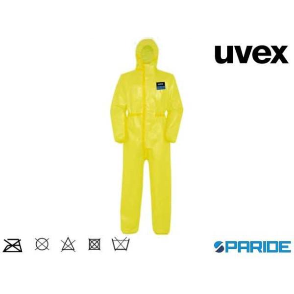 TUTA MONOUSO UVEX 3B CHEM CLASSIC 9881 TG 3XL